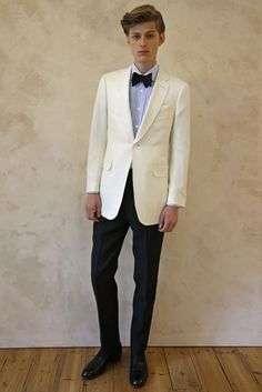 Dunhill Men's RTW Spring 2015 [Photo by Gaspar Ruitz]