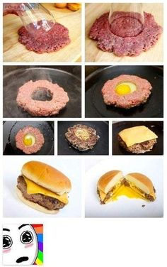 Anyone want a Egg burger