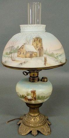 replica antique lamps - Google Search