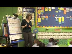 This teacher know how to engage students and incorporate many objectives in a morning message (I don't think welcome is a compound word, but lots of great things in this video!)