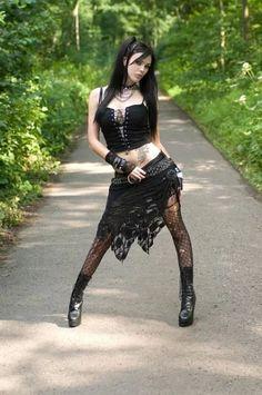 Goth black style 2017 - Miladies.net