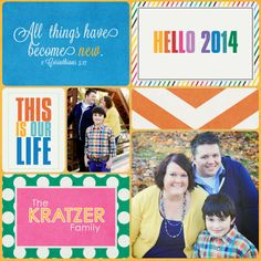 Project Life 2014: Title Page - Scrapbook.com