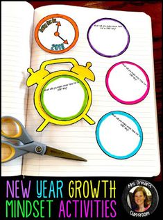 New Year Growth Mindset Activities www.traceeorman.com