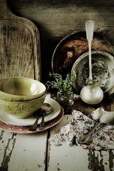 Pratos e Travessas: Verde Minho e vermelho beterraba # Minho green and beetroot…