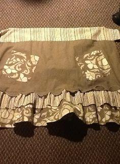 DIY Make an apron from pillowcase #diy #crafts #sew