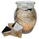 """'Deepest Condolences"""" Jar of sympathy messages in mini evelopes as a bereavement gift"""