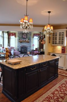 The Thrifty Gypsy: Home Tour Part Kitchen and Keeping room French Decor, French Country Decorating, Tuscan Decorating, Country French, Country Charm, Country Farmhouse, Country Style, Decorating Ideas, Traditional Modern Kitchens