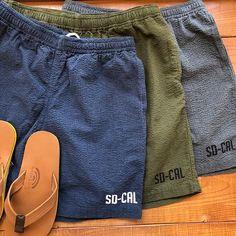 Standard California Seersucker US Navy Hood Easy Shorts. #standardcalifornia #スタンダードカリフォルニア # california #seersucker #シアサッカー #usnavy #ユーエスネイビー #easyshorts #イージーショーツ