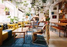 Sou Fujimoto combines geometric forms with Indonesian crafts for Hong Kong venue Eclectic Restaurant, Restaurant Design, Hong Kong Architecture, Interior Architecture, Sou Fujimoto, Bright Apartment, Potato Heads, Beautiful Interior Design, Dezeen