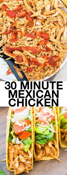 200 cheap easy 30 minute meals meals dinners and recipes quick and easy shredded chicken tacos recipe that makes a simple 30 minute meal using sisterspd