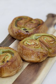 Pistachio Apricot Kouign Amann, Tiong Bahru Bakery | Natalie Eng | Pâtisserie & Food Photography