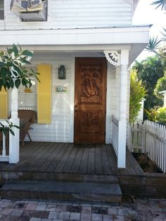 All of these Key West porches are charming, but this one is especially delightful.