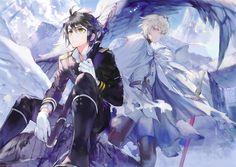 Seraph of the End Chapter 34 Art! Some of the best and most beautiful art from this manga yet!