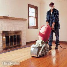 Sanding Hardwood Floors – Well, Sort of