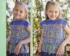 Dots'N'Freckles: Девочка из лоскутков