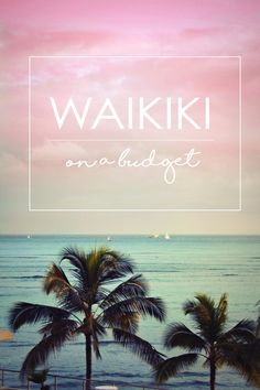 Things to do in Waikiki on a budget - Stone Broke Hawaii Blog. Tips from a local on where to stay, shop, dine, drink, and play in Waikiki.