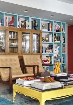 Biblioteca em casa: descubra quatro jeitos de organizar os livros (Foto: Divulgação)