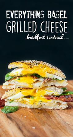 Get ready to scarf this sandwich for breakfast, brunch, and brinner!