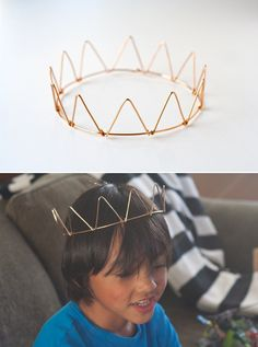 I don't have any kind of need for a crown but this is just too cute.