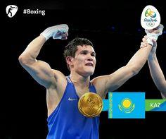 Daniyar Yeleussinov- Men's 69kg Boxing (Kazakhstan)
