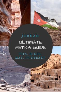 Ultimate Petra Tour Guide, Petra Travel Tips, Best Petra Temples and Best Petra Hiking Trails – The only guide you need for visiting Petra Jordan Petra Map, City Of Petra, Jordan Travel, Travel Guides, Travel Tips, Asia Travel, Lost City, Best Hikes, World Heritage Sites