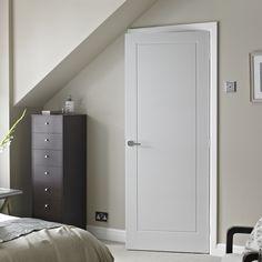 Premdor 1 Panel White Smooth Internal Door