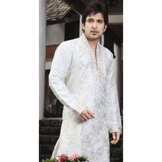 Off White designer sherwani.