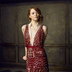 Emma Stone By Marc S