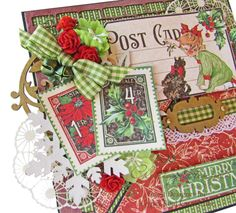 Beautiful December Children's Hour card by Gloria #graphic45