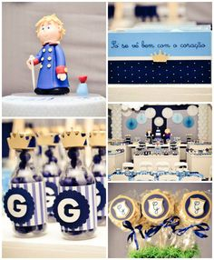 Le Petit Prince 1st birthday party full of fabulous ideas via via kara's party ideas! full of decorating ideas, dessert, cake, cupcakes, fav...
