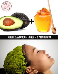 Give your hair a nourishing, moisturizing treat. 27 Insanely Easy Two-Ingredient DIY Hacks Diy Hair Mask, Hair A, Your Hair, Hair Masks, Diy Beauty, Beauty Hacks, Beauty Tips, Bath Bomb Ingredients, Hair Treatment Mask