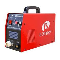 Lotos LTP5000D is an Efficient And Affordable plasma cutter. It's Pilot Arc makes the Lotos LTP5000D very effective for cutting any metal.