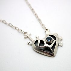 Heart necklace by Karen Smith