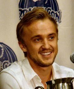 Tom Felton- that grin! :)