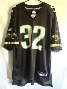 SYTp Reebok NFL Jacksonville Jaguars #32 Maurice Jones Drew Jersey XL Home Black #NFL #JacksonvilleJaguars