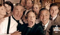 Downton Abbey George Clooney Sketch Video - Downton Abbey Comedy Skit - Country Living  2 skits---funny!!    mek