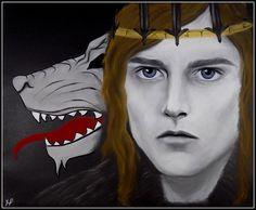Robb Stark (art by Anastasia Robozeeva)