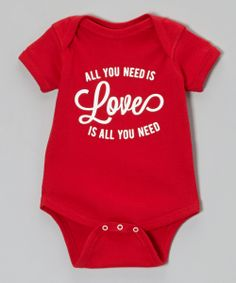Why can't they make this in my size? --'All You Need Is Love' Bodysuit