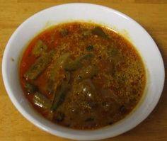 Indian Recipes - Pulikulambu - Vendakkai Pulikulambu