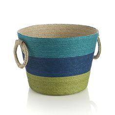 Riviera Striped Basket
