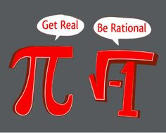 Imaginary and Irrational Numbers - Math pun