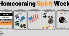 Make sure to participate to help your grade win the spirit stick. Tomorrow is favorite sports team day. #homecoming #homecomingweek #2017 #sportsteam