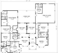 House Floor Plans & Designs - Build Your Dream Home Plans!