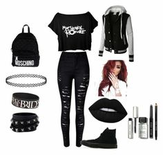 Cute Emo Outfits, Edgy Outfits, Teen Fashion Outfits, Grunge Outfits, Girl Outfits, Hipster Outfits, Fashion Clothes, Formal Outfits, Fashion Dresses