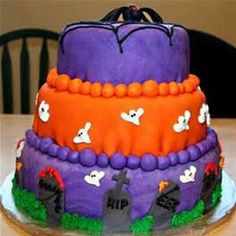 Halloween Cakes - Bing images