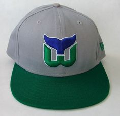 NHL New Era 9Fifty Hartford Whalers Hockey Vintage Snapback Baseball Cap  Hat  NewEra  BaseballCap 782f2ce5612