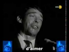 Quand on n´a que l´amour - Jacques Brel