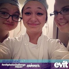 Let's take an #EVITSelfie! Congratulations to @bakingbabe2 for being one of the winners of this week's #evitphotochallenge! #weareevit