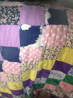 A New Project – Old into New – Quilt into Wall Hanging – Grandma Remembers. See details at Quilts SB - http://quiltsb.blogspot.com/