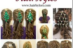 I'm a Christian wife & homeschooling mom of I'm passionate about helping girls feel good about themselves through cute hairstyles! Christian Wife, Christmas Hairstyles, New Moms, Cute Hairstyles, Braids, Corner, Christmas Tree, Long Hair Styles, Decorating